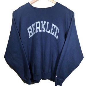 VTG Champion Berkley College Massachusetts Sweater